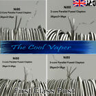 Ni80 Multi Core parallel Fused Flat Clapton Wire, (0.1Ω to 0.3Ω) Various lengths