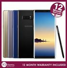 Samsung Galaxy Note 8 SM-N950F 64/128GB Mobile Smartphone Black/Gold Unlocked/EE