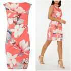 NEW BILLIE AND BLOSSOM DOROTHY PERKINS FLORAL BODYCON DRESS SIZE 10 to 14