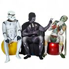 Darth Vader Morphsuit Comic-Con Costume Star Wars Cosplay Zapper Light Sabre