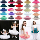 Внешний вид - Baby Girl Fluffy Ballet Tutu Princess Party Skirt Dancewear Kids Fancy Costume