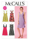 M7118 McCall's Sewing Pattern EASY Pullover Dresses Misses 4-20