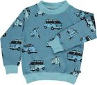Smafolk Car Sweatshirt - Cendre Blue