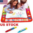 US STOCK Drawing Water Pen Painting Magic Doodle Aquadoodle Mat Board Kids Toys