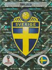 2018 FIFA WORLD CUP PANINI FOIL STICKERS - EMBLEMS/LEGENDSSports Stickers, Sets & Albums - 141755