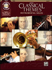 Easy Classical Themes Viola Play-Along Sheet Music Book/CD Instrumental Solos