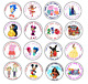 30 PERSONALISED BIRTHDAY SWEET CONE PARTY LABELS STICKERS SEALS ANY DESIGN