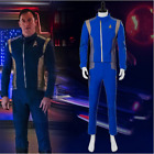 Star Trek Discovery Captain Lorca Uniform Cosplay Costume Blue Mens Command Suit on eBay