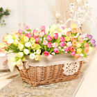 30Pcs Artificial Fake Rose Silk Flower Head Plant Wedding Home Carft Decoration