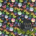 RAINBOW CATS HYDROGRAPHIC WATER TRANSFER HYDRO FILM DIP APE