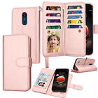 For LG Aristo 2/Tribute Dynasty/Fortune 2/LV3 2018 Leather Wallet Phone Case