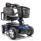 Pride VICTORY SPORT Mobility Scooter used 4-wheel S710DXW Viper Blue $1925.0 USD on eBay