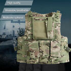 Army Military Molle Combat Airsoft Tactical Vest Adjustable Plate Carrier 5ColorChest Rigs & Tactical Vests - 177891