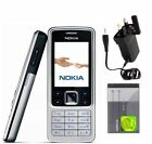 Nokia 6300 - Silver Black Gold - Unlocked - Classic Mobile Phone Keypad Camera
