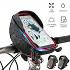 "Waterproof Touch Screen Bike Bicycle Handlebar Bag Holder Pouch 6"" Cell Phone"