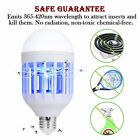 Mosquito Killer Lamp Bug Zapper Light Bulb Electronic Insect Killer Wholesale US