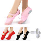 Внешний вид - Hot Adult Child Canvas Soft Ballet Dance Slippers Pointe Gymnastics Shoes