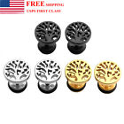 Stainless Steel Tree Of Life Helix Cartilage Stud Tragus Ring Earring 16G 3Color