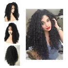 Africa Wave Curly Lace Glueless Lace Front Wig With Baby Hair For Black Womens