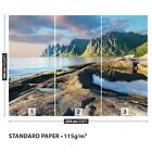 Paper Wall Mural Photo Wallpaper Poster Picture Image Mountains Norwey