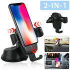 360° Universal Gravity Car Mount Air Vent Holder Windshield Dash Suction Cradle