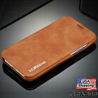 luxury leather wallet stand thin slim skin