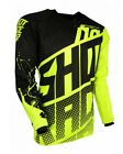 Shot MX Adult Contact Venom Motocross Off Road Bike Jersey - Neon Yellow