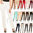 Womens Slight Boot Cut Dress Pants For Office Wear For Every