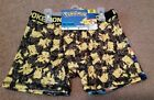 Boy's Pokemon Boxer Briefs 2-pair Pikachu Charmander Squirtle Size 6  NEW