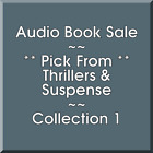 Audio Book Sale: Thrillers & Suspense (1) - Pick what you want to save