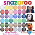 18ml Snazaroo Face & Body Paint Make Up Many Colours Stage Fancy Dress Halloween