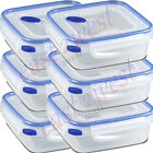 Sterilite 03314706 Ultra-Seal 4 Cup Food Storage Container 1,  2,  3,  4,