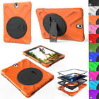 For Samsung Galaxy Tab S2 9.7 T810 Crate Shockproof Hybrid Rubber 360 Stand Cover