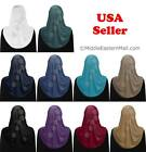 Hijab 1pc fashion Aiyah design Lycra with Stones one size Muslim woman Hijabs