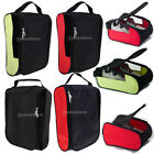 Lightweight Travel Shoe Bag Zippered Golf Shoes Case Luggage Organizer Pouch