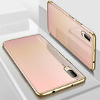 NEW Luxury Ultra Slim Shockproof Silicone Clear Case Cover Huawei