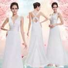 Ever-Pretty Mother of Bride Dresses Long V-neck Evening Party Prom Gown 09008