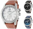 Glycine Men's Airman 42 GMT 42mm Quartz - Choice of Color image