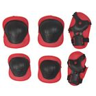 6/7pc Kids Skating Roller Skateboard Cycling Pad Gear Knee Elbow Wrist Protector
