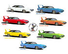 "Plymouth 1970 Road Runner Superbird colors canvas art print 16""x20"" image -"