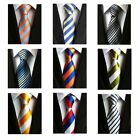 US Mens Casual Polyester Business Executive Wedding Party 8cm Classic Men's Ties