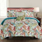 8 Piece Comforter Set Bedding Elegant Soft Fitted Flat Sheets Queen/King Size image