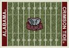 Alabama Crimson Tide Bama Football Field Rug
