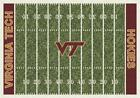 Virginia Tech VT Hokies Football Field Rug