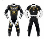 Suzuki GSXR Motorcycle Leather Suit Motorbike Sports Leather Suit Racing Suit