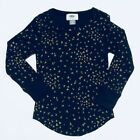 NWT OLD NAVY GIRLS SHIRT TOP THERMAL glitter hearts   u pick size