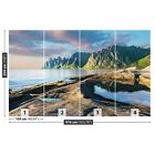 Photo wallpaper Wall mural Removable Self-adhesive Mountains Norwey