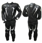 Motorcycle Cowhide Leather Suit Racing Motorbike Riding Suit Jacket CE Armour