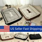 Large Pet Dog Cat Bed Puppy Cushion House Soft Warm Kennel Dog Mat Blanket NEW