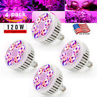 120W LED Grow Light Lamp Plants Flower Hydroponic Oganic Growing Full Spectrum